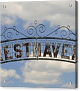 Resthaven Acrylic Print