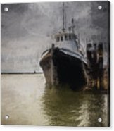 Resting At The Dock Acrylic Print