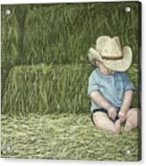 Resting Acrylic Print