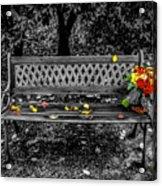 Resting Flowers Acrylic Print