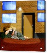 Resting Under The Light Acrylic Print