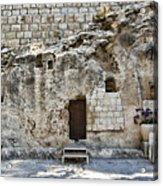 Resurrection - Garden Tomb Acrylic Print