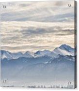 Retezat Mountains Acrylic Print