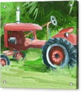 Retired Farmall Acrylic Print