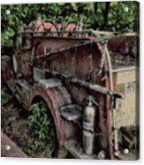 Retired Fire Truck Acrylic Print