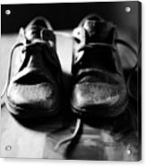 Retired Old Shoes Acrylic Print