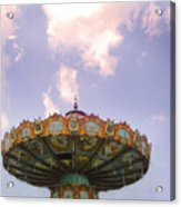 Retired Ride In The Sky Or Ufo Acrylic Print