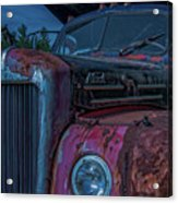 Retired Rusty Mack IIi Acrylic Print