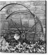 Retired Wheel Acrylic Print