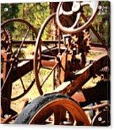 Retired Wheels Acrylic Print