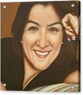 Retrato De Rocio Acrylic Print