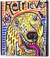 Retriever Acrylic Print by Robert Wolverton Jr