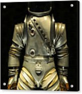 Retro Astronaut Acrylic Print