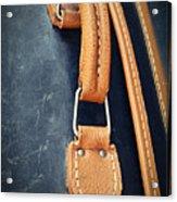 Retro Background Old Suitcase Handle Acrylic Print