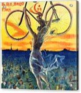Retro Bicycle Ad 1898 Acrylic Print