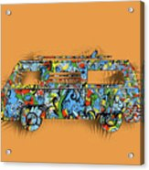 Retro Camper Van 2 Acrylic Print