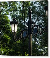 Retro Chic Streetlamps - Old World Charm With A Modern Twist Acrylic Print