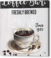 Retro Coffee Shop 2 Acrylic Print