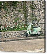 Retro Italian Scooter Acrylic Print