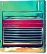 Retro Radio Acrylic Print