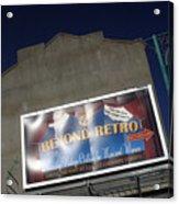 Retro Raod Acrylic Print