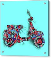 Retro Scooter 3 Acrylic Print