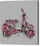 Retro Scooter 4 Acrylic Print