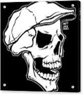 Retro Skull Acrylic Print