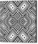 Retro Square Background Acrylic Print
