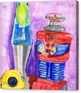 Retro Toys Acrylic Print