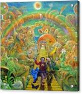 return from Hispaniola Acrylic Print
