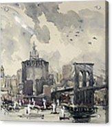 Return Of The World Fliers Acrylic Print