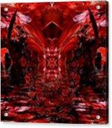Return To Pomegranate Gate  Acrylic Print
