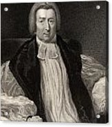 Rev Robert Gray 1762 To 1834 Bishop Of Acrylic Print