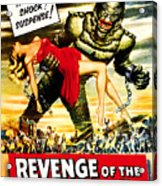 Revenge Of The Creature, 1955 Acrylic Print by Everett