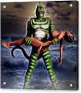 Revenge Of The Creature Acrylic Print