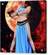 Revenge Of The Space Princess Acrylic Print