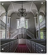 Reverence - Bennington First Church Acrylic Print