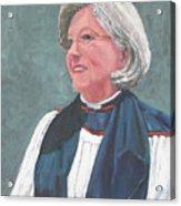 Reverend Mary Gregorius Acrylic Print
