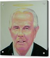 Reverend Pat Robertson Acrylic Print