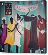 Revival Night Acrylic Print