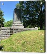 Revolutionary War Monument  Acrylic Print