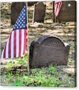 Revolutionary War Veteran Acrylic Print