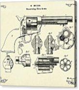 Revolving Fire Arm-1875 Acrylic Print