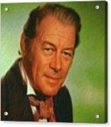 Rex Harrison, Actor Acrylic Print