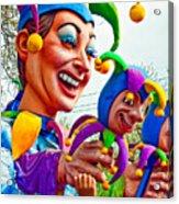Rex Mardi Gras Parade Xi Acrylic Print