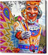 Rex Rides In New Orleans Acrylic Print