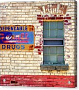 Rexall Drugs Sign Hermann Mo_dsc3130_16 Acrylic Print