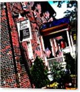 Reynolds Tavern Annapolis Acrylic Print
