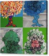 Rfb0502-0505 Acrylic Print